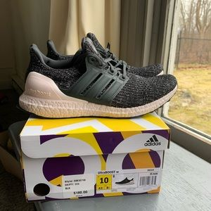 Adidas ultraboost 4.0 black orchid size 10 womens